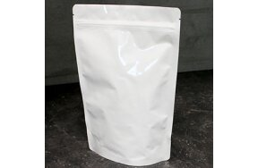 DOY-PACK ALOUMINIOUM WHITE BAGS